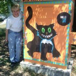 Artist: Commissioner Patty Sheehan.   Location: Virginia Drive & Ferncreek Avenue