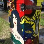 Artist: Lauren Galant.   Location: Colonial Drive & Hyer Avenue