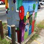 Artist: Lee Vandergrift    Location: Colonial Drive & Ferncreek Avenue