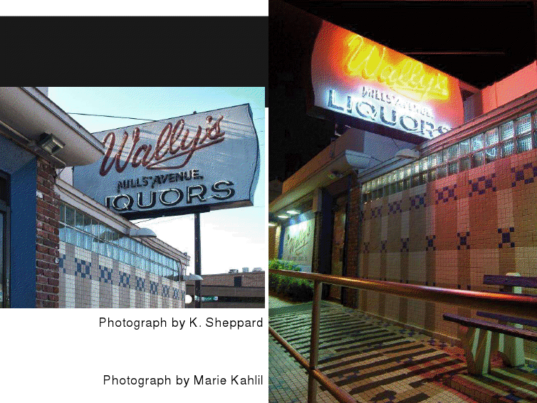 Wally's Liquors, 1001 N. Mills