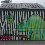 Artist: Dan Perry.  Location:  Hawker's Asian Street Fare.