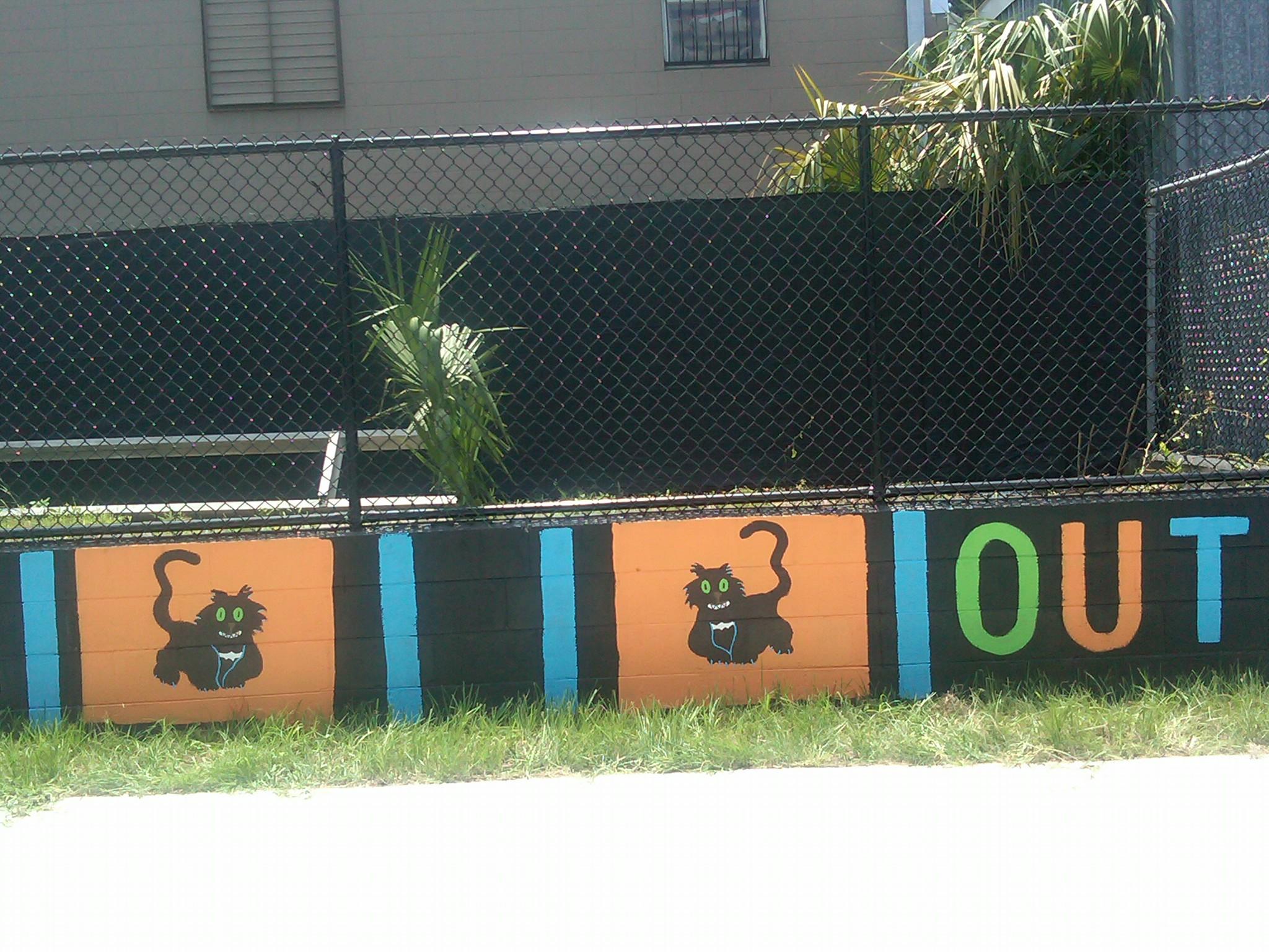 Artist: Patty Sheehan.  Location: Orlando Urban Trail.