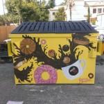 Artist: Erin Ireland. Location: Pig Floyd's Urban Barbakoa, 1326 N. Mills.