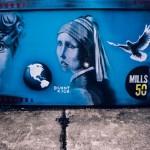 Artist: Danny Rock. Location: Corner of Mills & Marks.