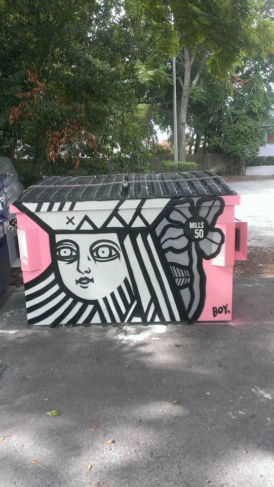 Artist: Boy Kong. Location: Orange Studio, 1121 N. Mills.