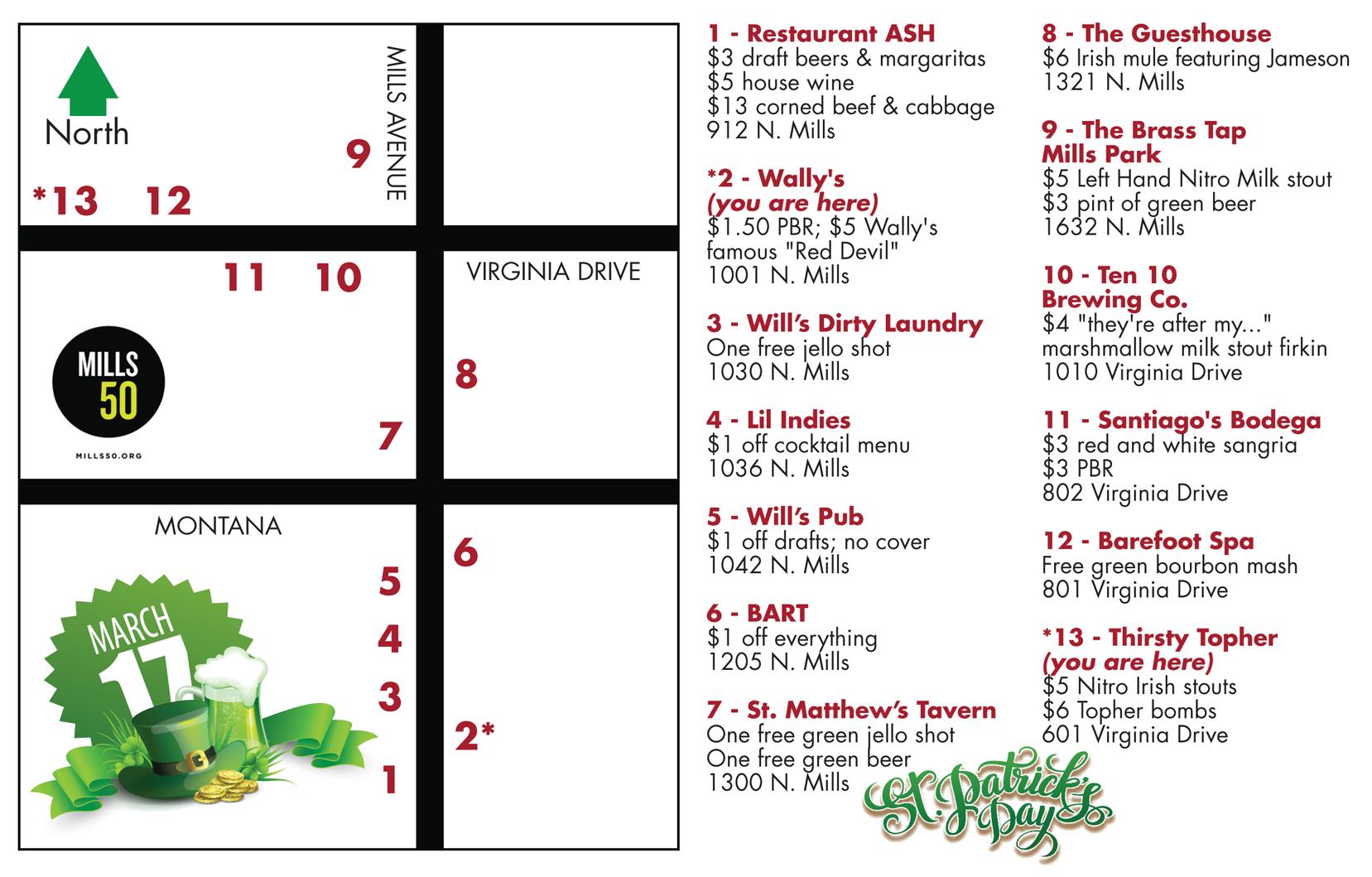st paddys pub crawl map 2017.ai